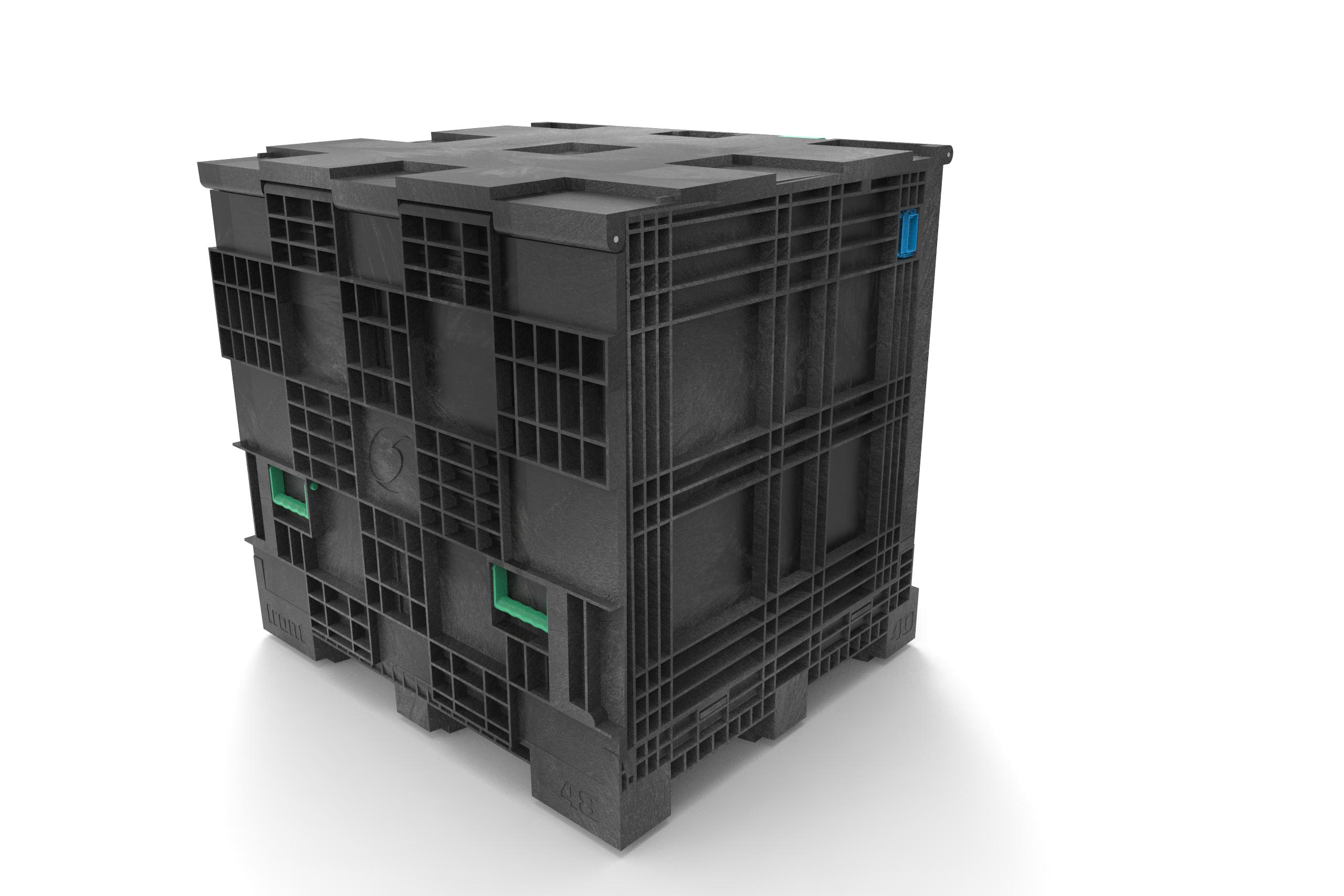 Mehrwegbehälter aus Kunststoff für E-Motoren