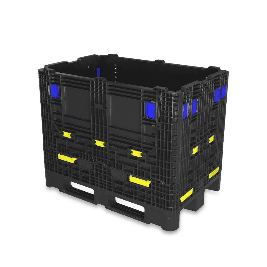 GitterPak: industrial FLC - plastic foldable large container 1200 x 800
