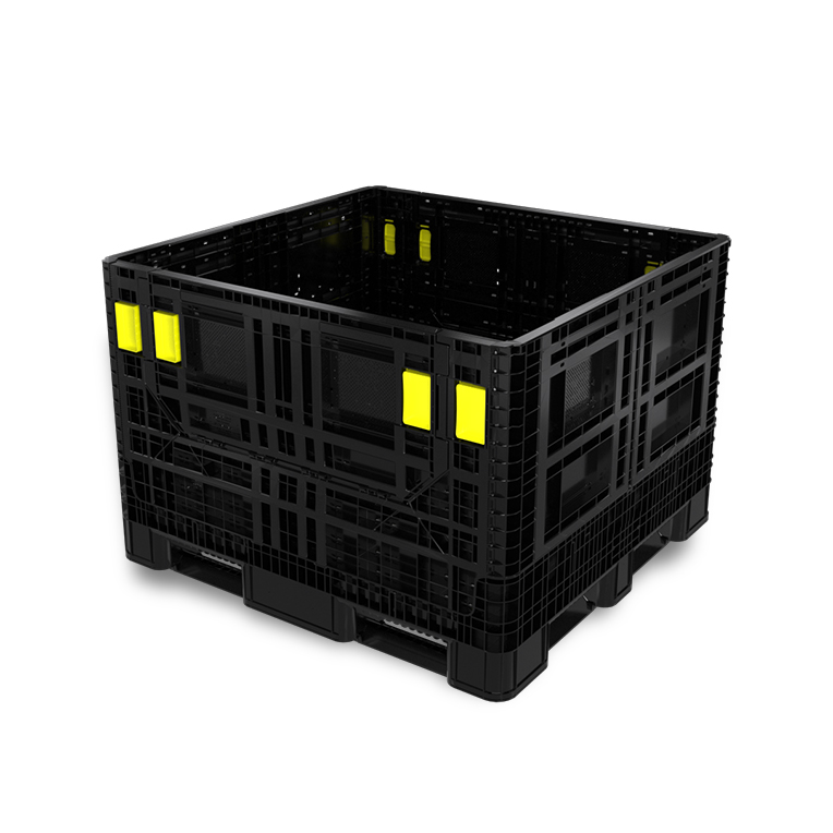 OceanPak: foldable large container for intercontinental shipments and sea freight