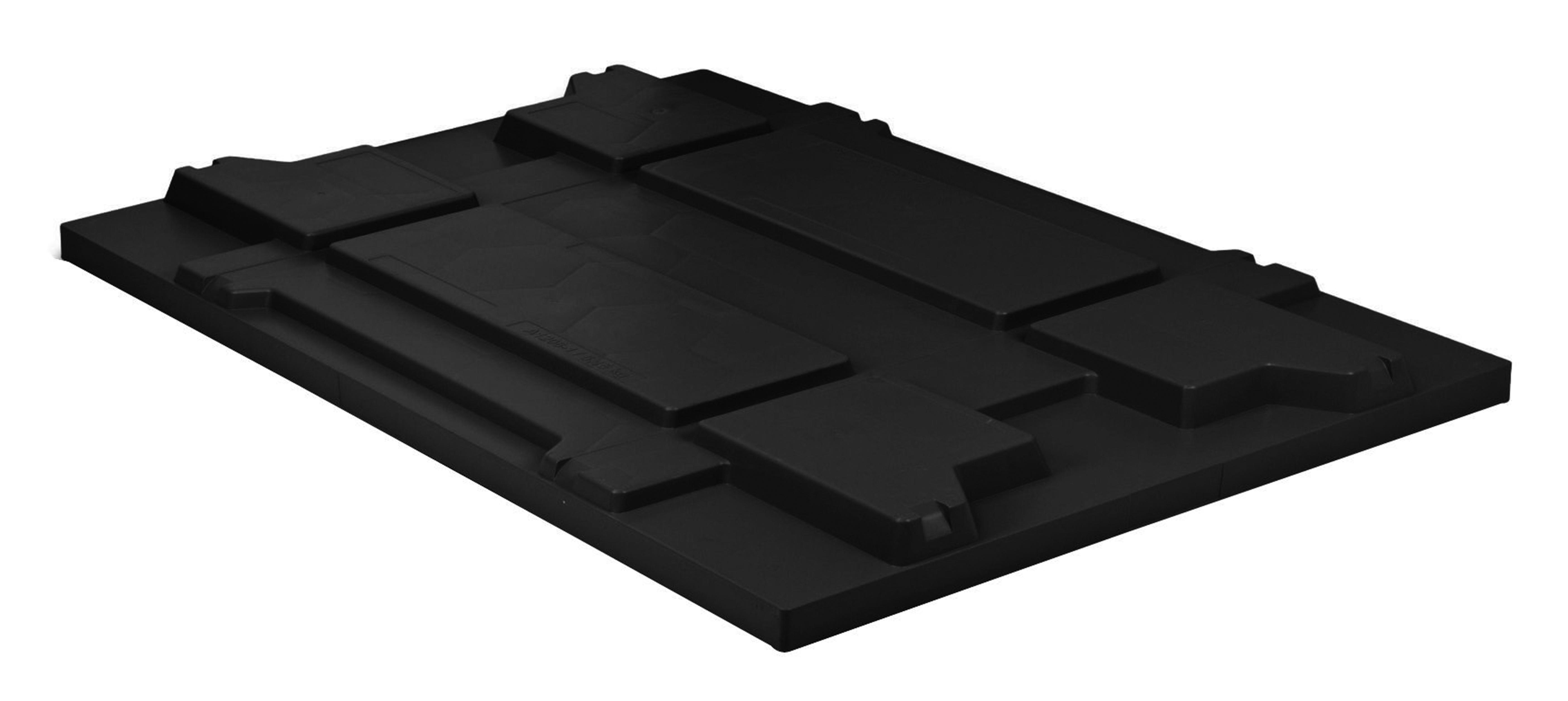 Couvercles de bacs KLT pour petites charges en plastique