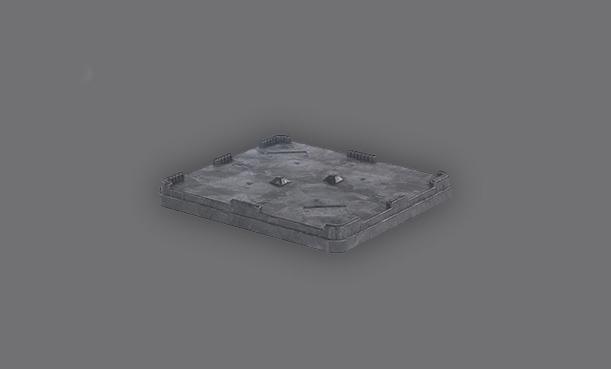 Zubehör und Deckel für Mehrweg Behälter aus Kunststoff
