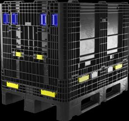 ORBIS GitterPak 1200 x 800, faltbare Großladungsträger aus Kunststoff