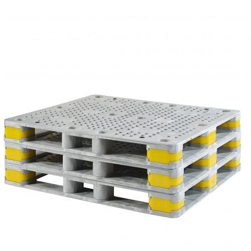 Stapelbar Konnektor Paletten Kunststoff