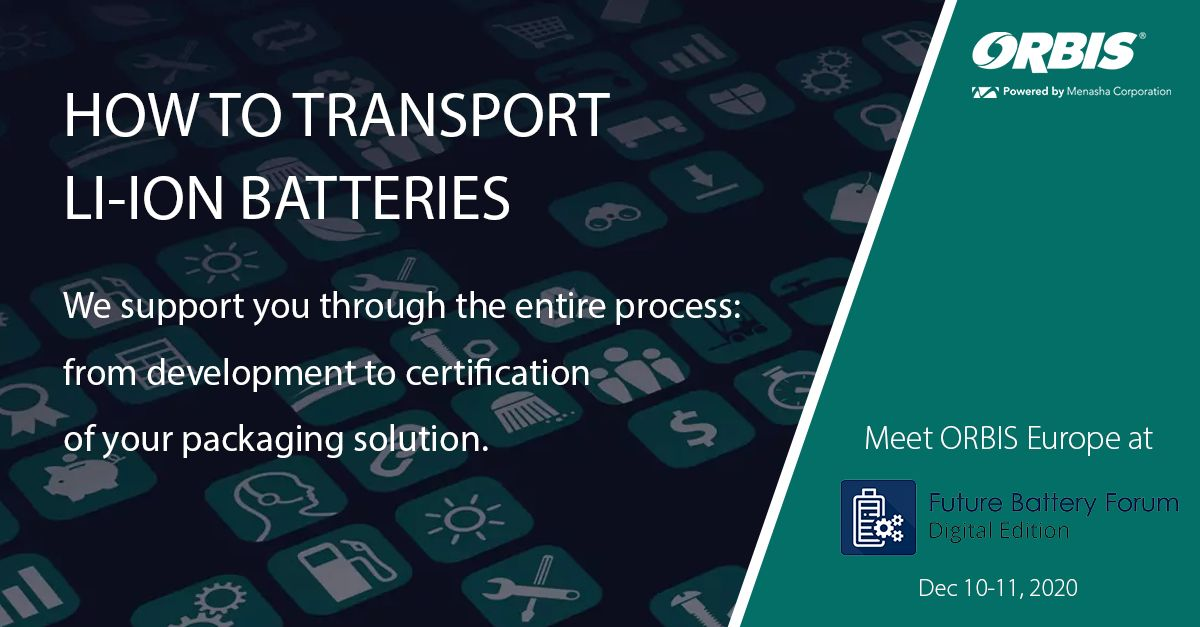 Gefahrgutbehälter für Lithium-Ionen Batterien