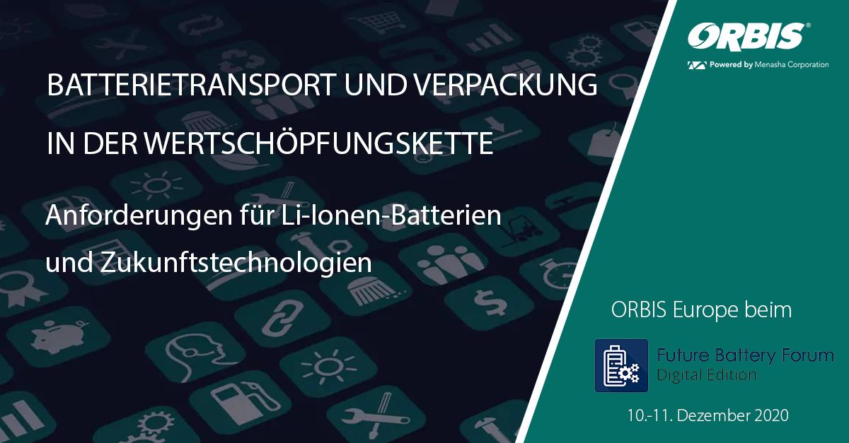 Batterietransport und Verpackung in der Wertschöpfungskette
