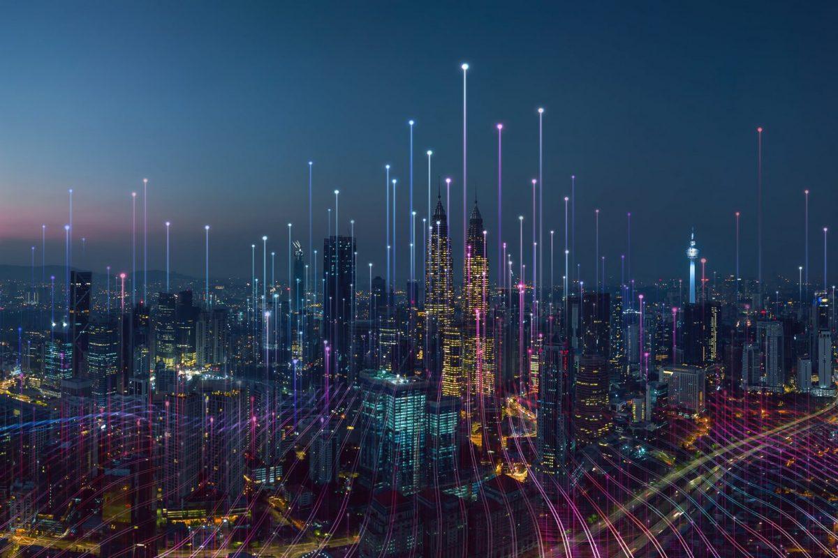 Digitalisierung der Lieferkette mit dem Internet der Dinge