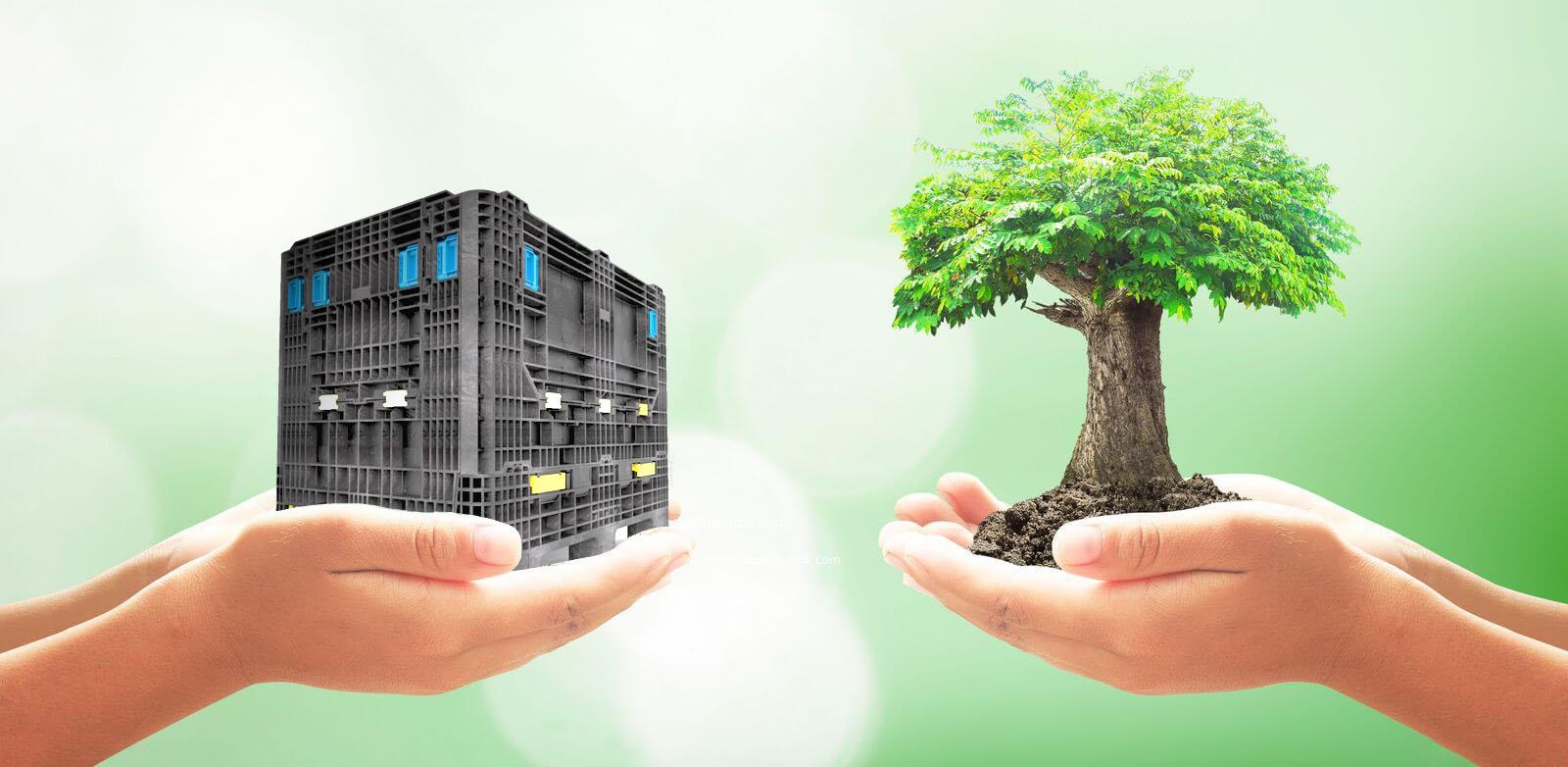 Mehrweg Kunststoffverpackungen für mehr Nachhaltigkeit in der Lieferkette